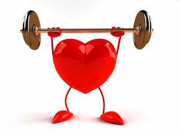 cuore con bilanciere