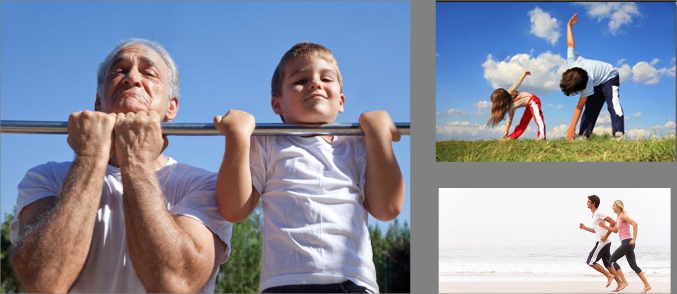 Raccomandazioni attività fisica OMS per fasce di età